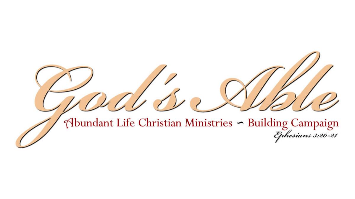 God's Able Building Campaign