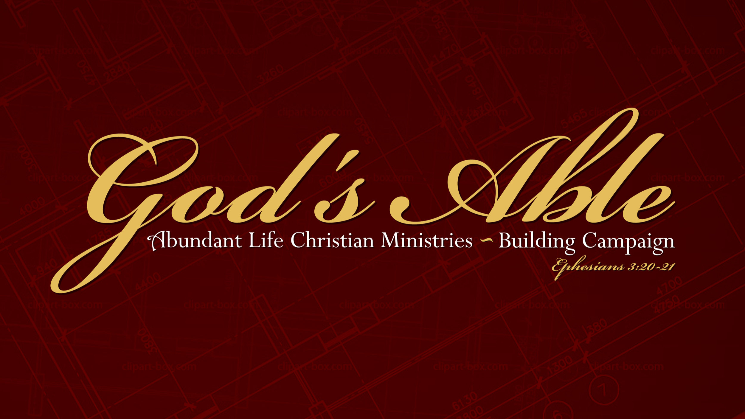 God's Able Building Campaign