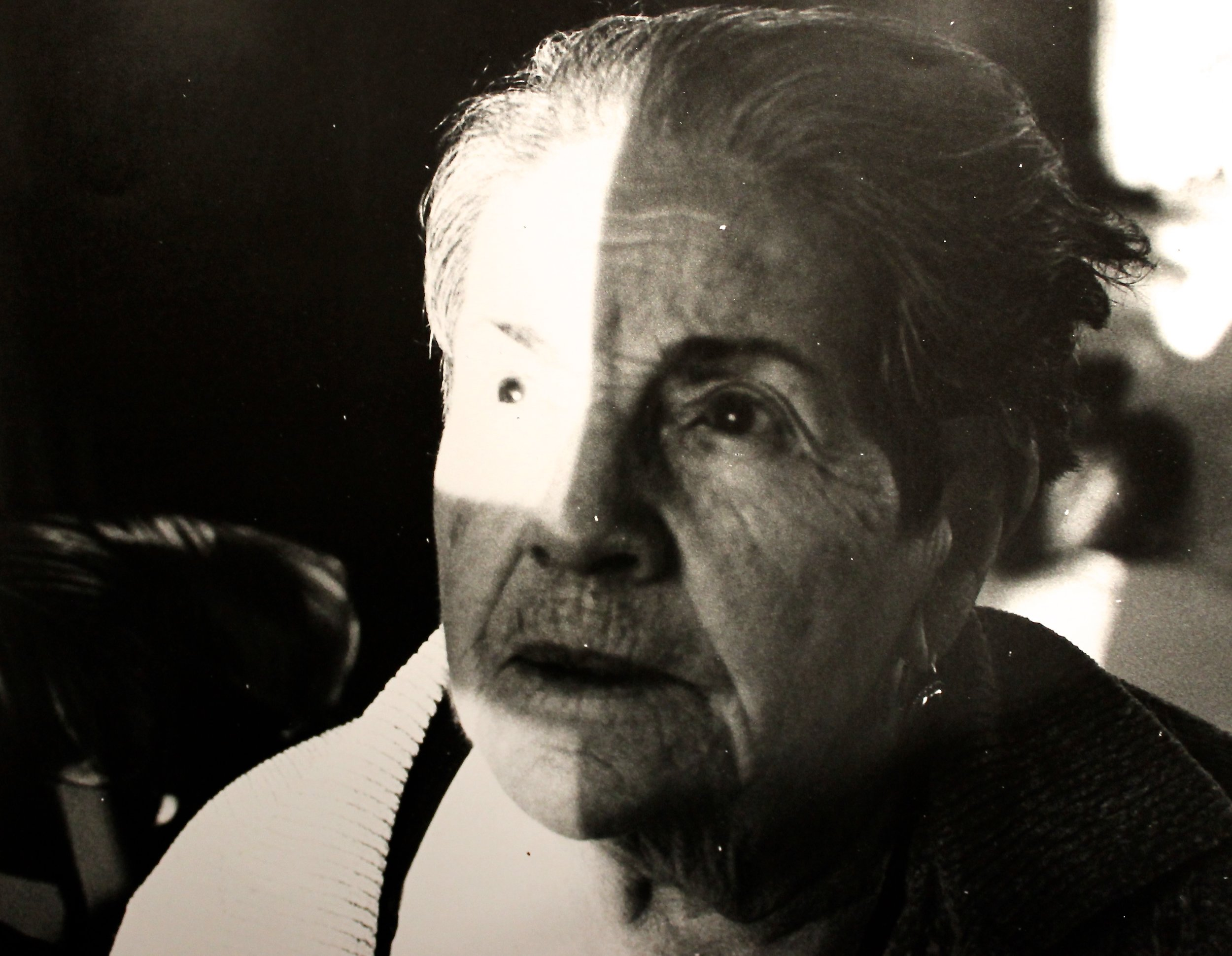 My grandmother Odecta Canal, thinking things she cannot articulate.