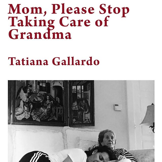 Tatiana Gallardo (@vividtatiana ) is a writer, photographer, and hot-sauce enthusiast living and working in New York City. Her work in (un)common sense centers on caregiving between generations of women who struggle to find their place in a world that rarely recognizes their effort. Find the series of photographs and writing at our website in the bio!  #uncommonsense #uncommonsensechapbook #literature #art #photography