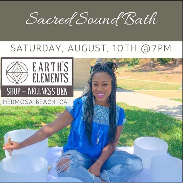 Coming up Next Week! Don't miss this Sound Bath Surrounded by Crystals! This event takes place literally 1 block from the beach and lots of fine dinning and shops! You don't want to miss 😇💙✨bring your notebook, yoga mat, pillow, and good vibes. 💛 (get tickets in bio)