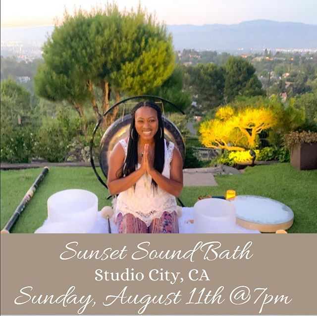 This is one of my favorite Sound Baths because it takes place overlooking the beautiful Hills of the SFV.  Come out and enjoy the evening with wine and cheese and then a relaxing SoundBath!  Bring a yoga mat, notebook, pillow, sweater, and blanket. Come ready to Tune in and manifest everything you've ever wanted. (Get Tickets via Eventbrite or Venmo me directly @jenniferfranklin_ ) Energy Exchange $30