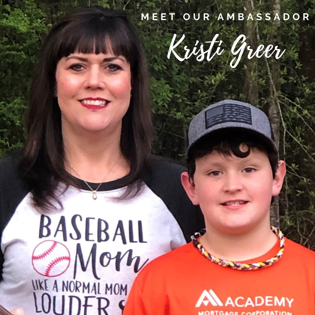 Meet our Ambassador, Kristi Greer! Mortgage Loan Officer, Academy Mortgage Corporation (318) 855-0988  What motivates me to work hard? Having a goal to meet; I like having goals and achieving them.   What is my favorite thing about my career? I love helping people achieve home ownership and helping them through the process. Everyone deserves to have a place of their own!  What is my proudest accomplishment? My son, he is my miracle baby! I don't know what I did to deserve him.  What did I want to be when I was young? A retail store owner. I somewhat had the experience, I was shoes and accessories buyer for Lewis' Boutique for 6 years. It was fun going to market and spending someone else money.  If I could go back in time, what year would I travel to? Looking back through the years, you learn things from mistakes and accomplishments and make wiser decisions. Even though I would like to go back to be younger, I wouldn't want to relive some lessons I have learned. I woul