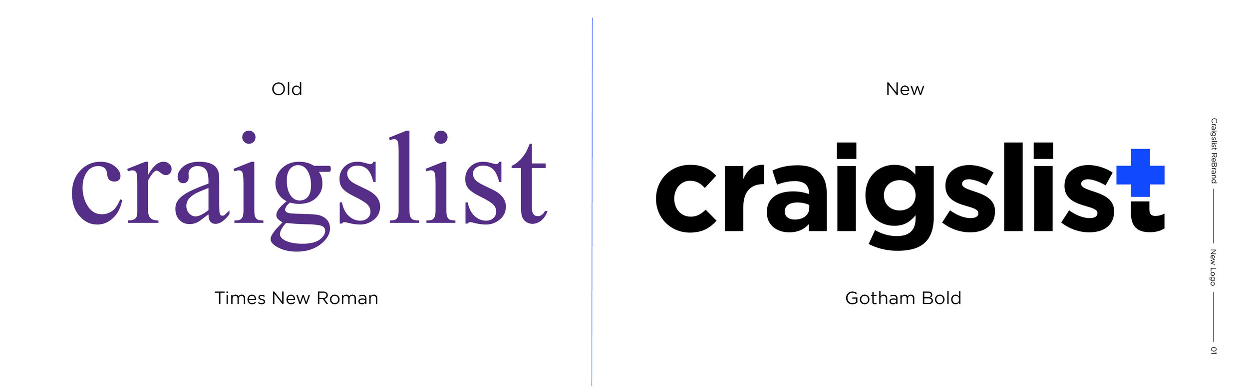 Craigslist Re-Brand — Robert Barrese