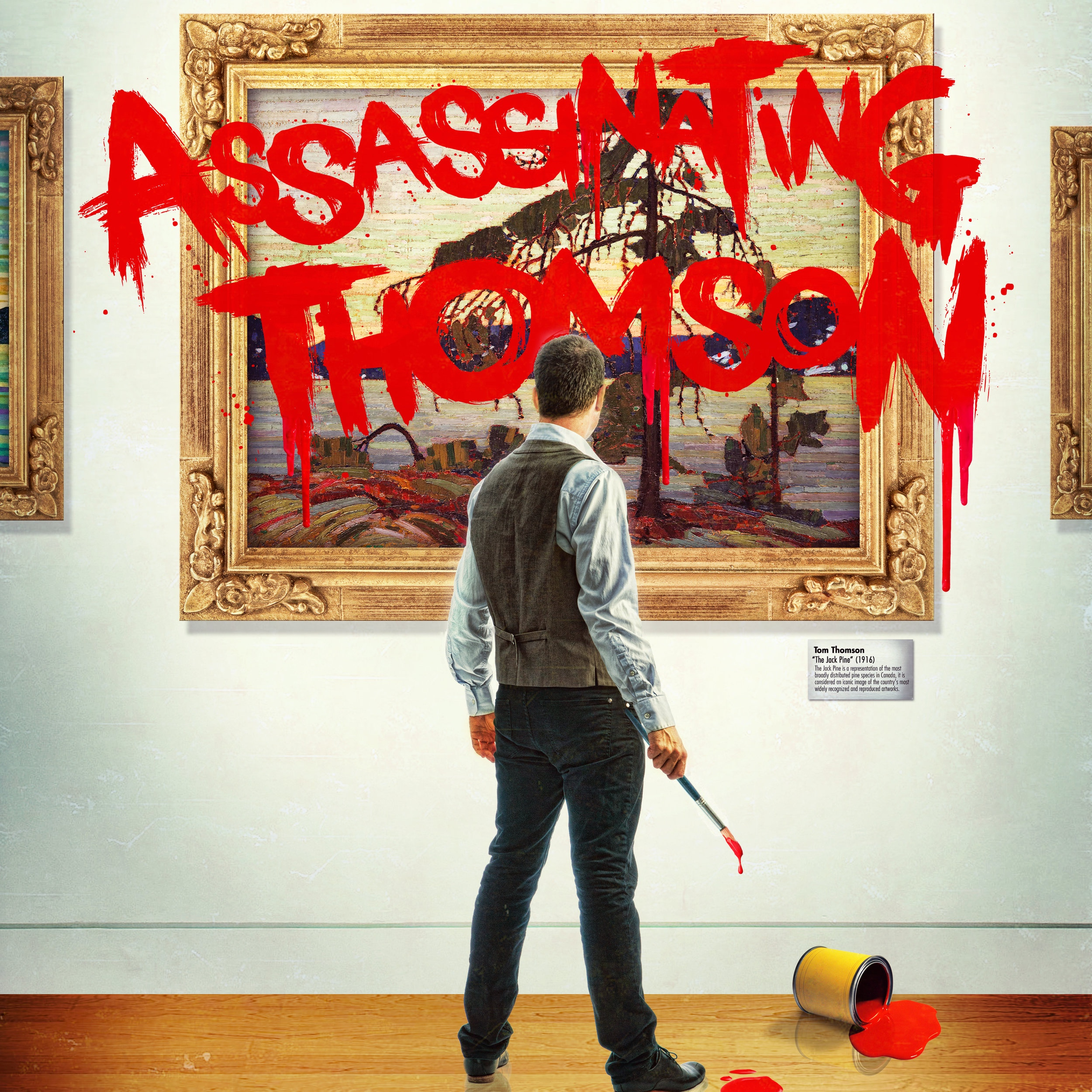 """Assassinating Thomson19 & 25 July • 8PM - Creator and performer Bruce Horak, a legally blind painter, actor and playwright, paints the audience's portrait live on stage as he explores the facts and fictions surrounding the death of one of Canada's greatest artists, and shares the unique way he sees the world.★★★★★ – CBC Winnipeg""""Bold and almost shocking in its originality. I haven quite seen through the eyes of a blind man, but I'll probably never get closer."""" – Daily Courier, Vancouver"""