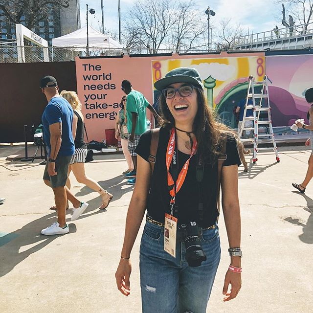 🙃Ready for #SXSW?!🔥 We're throwing it back this #Thursday to last year's SX, where our founder @zulesky joined her fav food truck team @fourbrothersatx to take on #SXSW interactive! - What events are you most excited about this year? 🎉 #atx