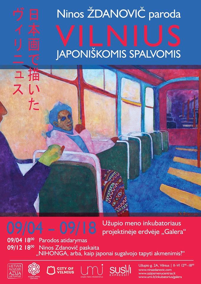 Vilnius japoniškomis spalvomis