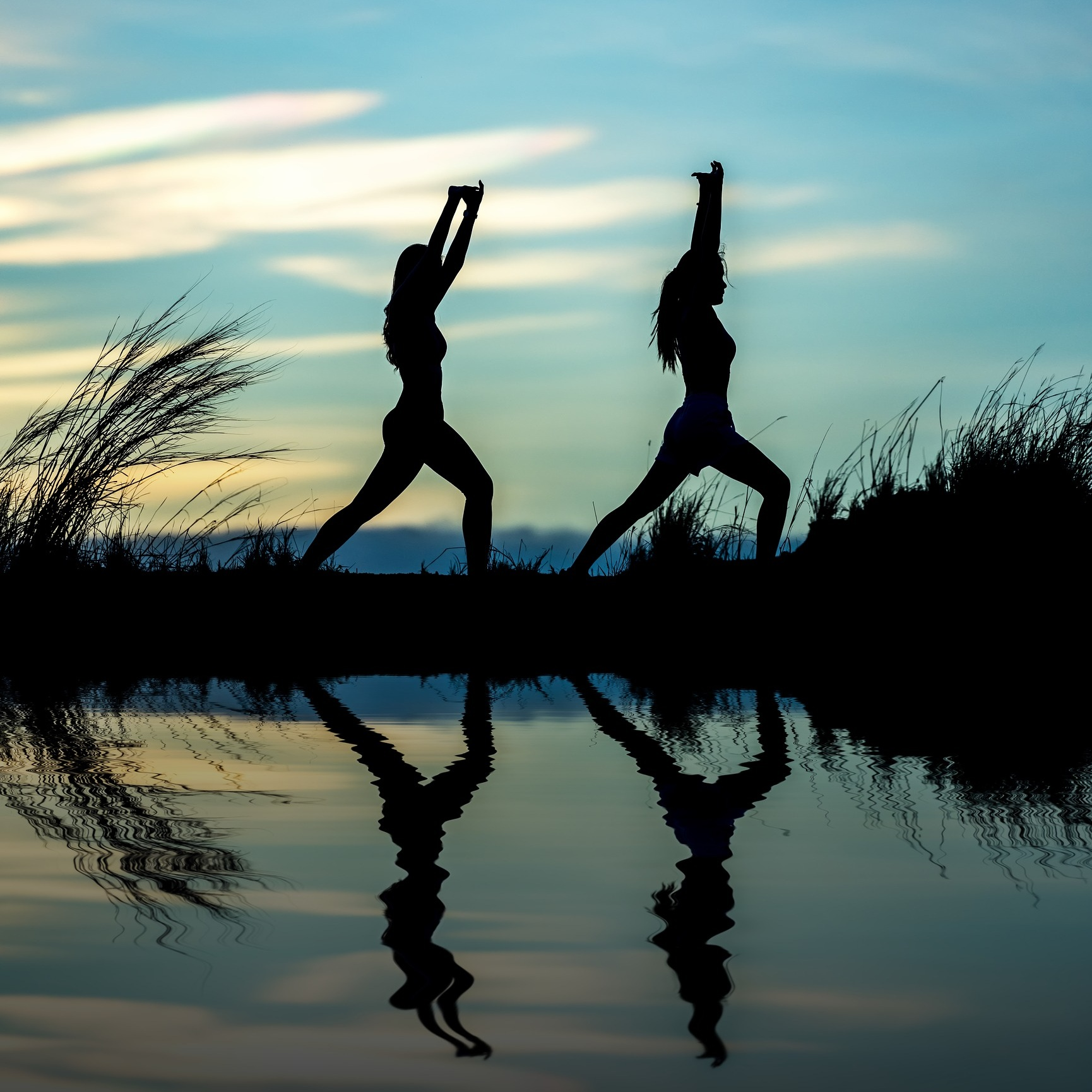 """1 HR BASICS:STANDING POSES - Sun Salutations """"Surya Namaskas"""" warm up the body and link your breath to your movements. Taught in this basics class are 3 versions as well as many standing poses. All taught with intent for no injury and refinement of posture.Come to feel strong and confident."""