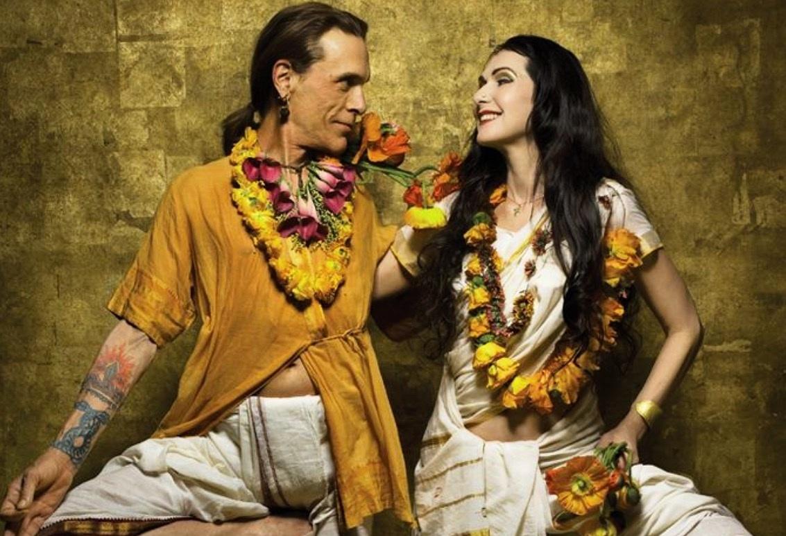 Davidji and Sharonji - om sai bolo bhagwan ki jai