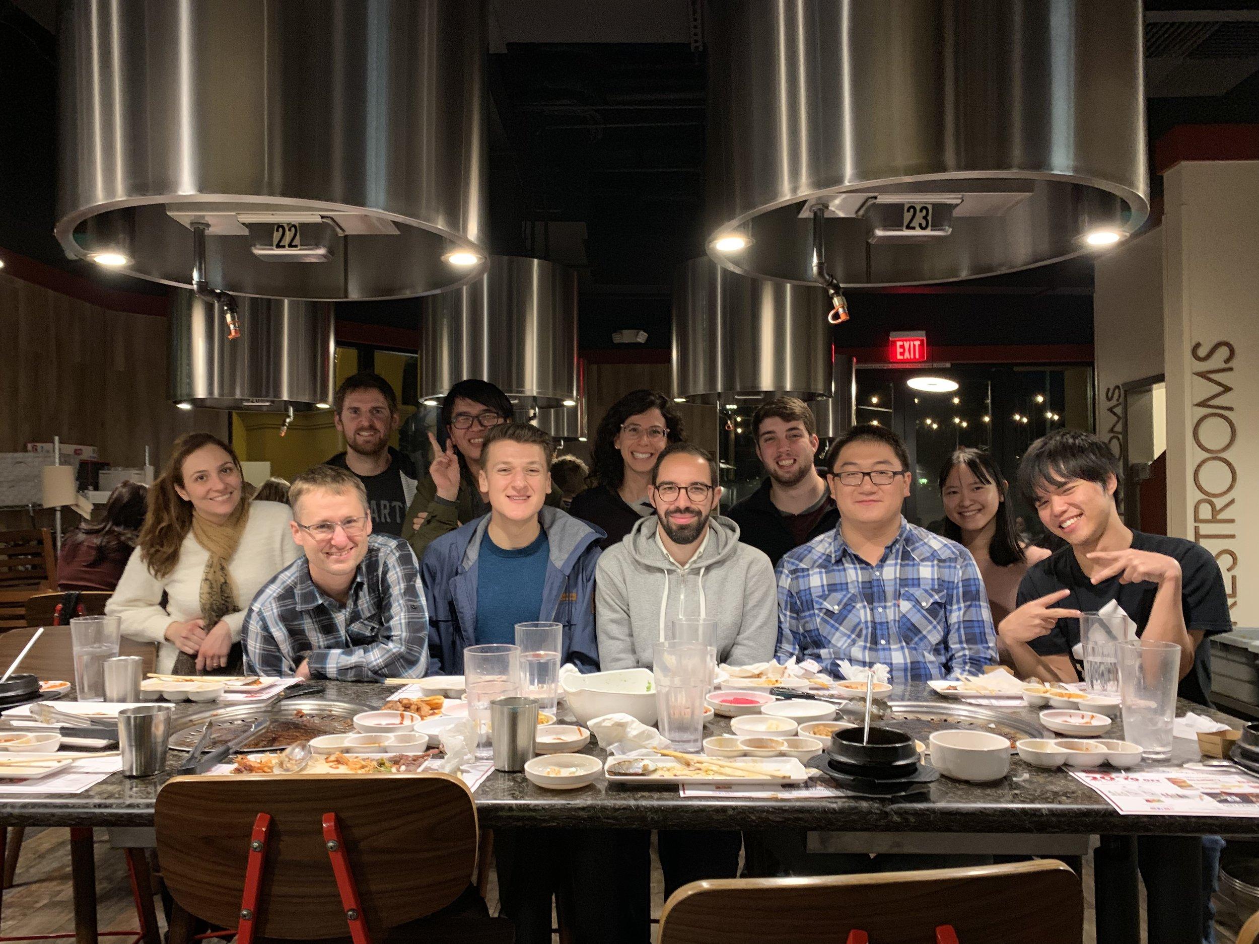 Korean BBQ and Hassen Farewell and Double Kimboration Celebration.jpg