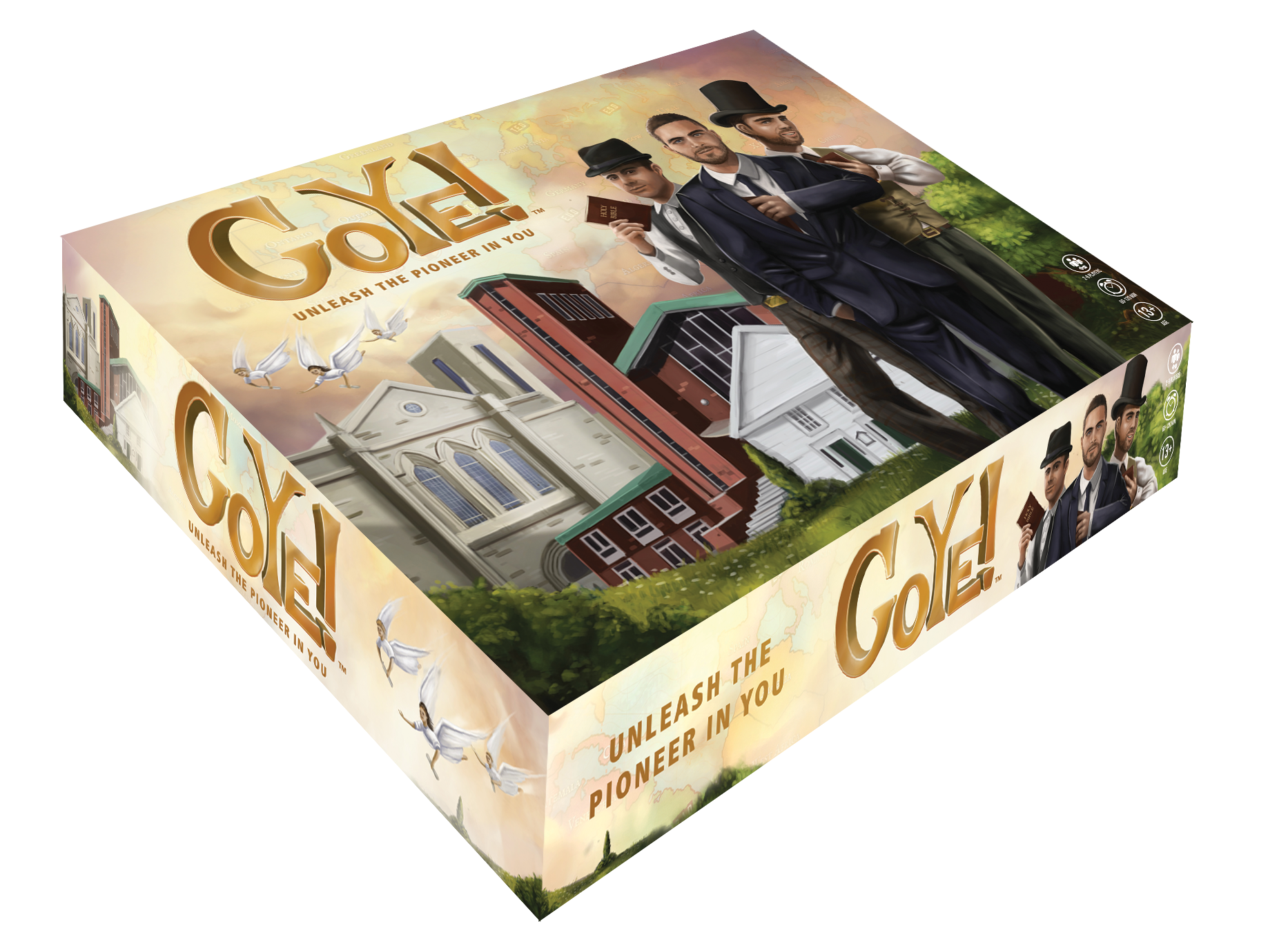 GoYe!Board Game - We've fused strategic game play with Adventist history and pioneering nostalgia, to create a game that everyone will love. Adventist identity, mission and leadership in one box.