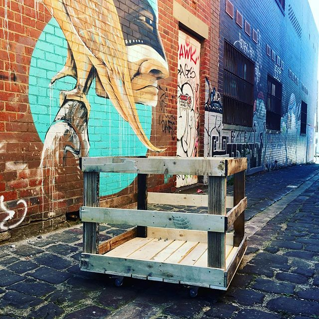 A pleasure to build a crate for @mottainaicycles_collingwood so they can recycle their worn out tyres & tubes. Thanks guys! . . . . . #recyclebiketyres #recyclebiketubes #recyclebiketyresandtubes #mottainaicycles #collingwood #upcycling #recycling #tyrecrumb #plywoodcrates #shippingpalletcrates  #bepartofthesolutionnotthepollution
