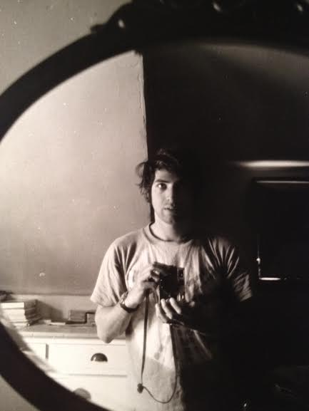 Shelly Grimson, self portrait, probably 1968-1970