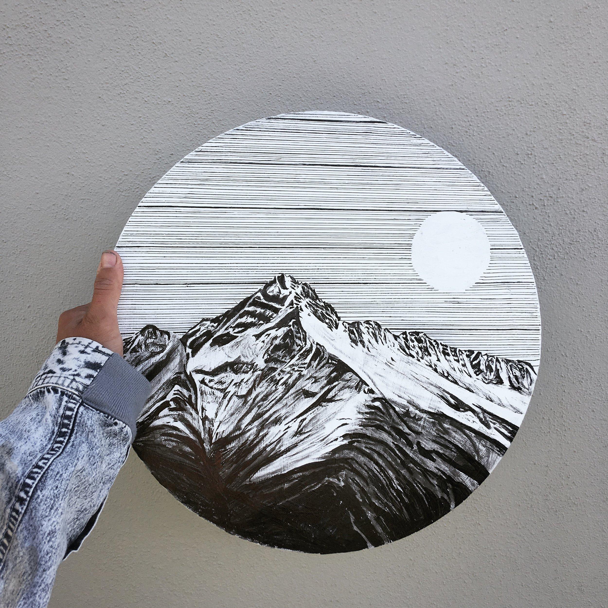 mountain prints -