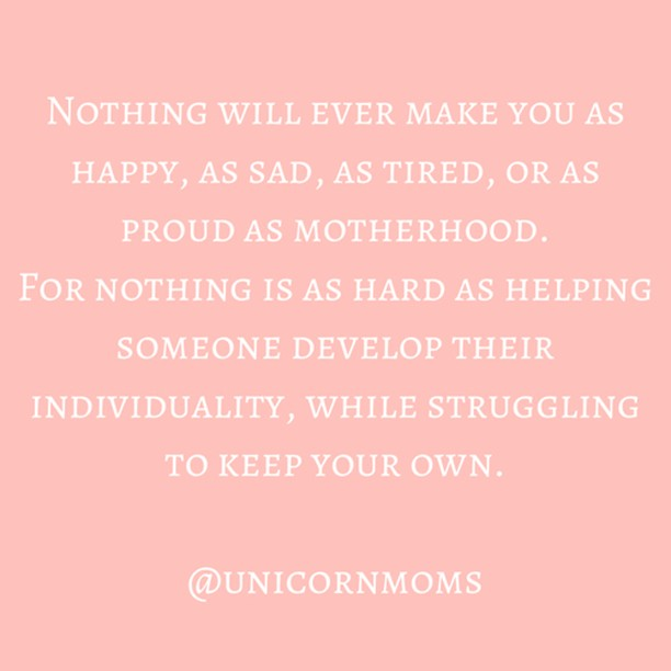 "Powerful stuff from @unicornmoms⠀⠀⠀⠀⠀⠀⠀⠀⠀ .⠀⠀⠀⠀⠀⠀⠀⠀⠀ Who were you before you were ""mom"" ??⠀⠀⠀⠀⠀⠀⠀⠀⠀ .⠀⠀⠀⠀⠀⠀⠀⠀⠀ I was a lover of fun, but a bit too aware of consequences to ever be completely reckless 😬⠀⠀⠀⠀⠀⠀⠀⠀⠀ .⠀⠀⠀⠀⠀⠀⠀⠀⠀ I was always up for an adventure in the outdoors even though on the inside I'd be 💩 myself⠀⠀⠀⠀⠀⠀⠀⠀⠀ .⠀⠀⠀⠀⠀⠀⠀⠀⠀ I was always the first person on the dance floor 💃 ⠀⠀⠀⠀⠀⠀⠀⠀⠀ .⠀⠀⠀⠀⠀⠀⠀⠀⠀ I was a good heart, and a bit of a potty mouth 🤭⠀⠀⠀⠀⠀⠀⠀⠀⠀ .⠀⠀⠀⠀⠀⠀⠀⠀⠀ And I was the master of the lost art of afternoon naps 😴 ⠀⠀⠀⠀⠀⠀⠀⠀⠀ .⠀⠀⠀⠀⠀⠀⠀⠀⠀ The truth is I still am all those things. My kids haven't taken anything away from me, they have just added to the list. Now I can also say that I am...⠀⠀⠀⠀⠀⠀⠀⠀⠀ ⠀⠀⠀⠀⠀⠀⠀⠀⠀ 🍎  a packer of lunch boxes⠀⠀⠀⠀⠀⠀⠀⠀⠀ 😢 a kisser of ""owies""⠀⠀⠀⠀⠀⠀⠀⠀⠀ 📖 a reader of story books⠀⠀⠀⠀⠀⠀⠀⠀⠀ .⠀⠀⠀⠀⠀⠀⠀⠀⠀ I think it's important not to lose touch with the person you were before you became a mom. That person is still there, but during this season she may just have to take a bit of a backseat ❤️⠀⠀⠀⠀⠀⠀⠀⠀⠀ .⠀⠀⠀⠀⠀⠀⠀⠀⠀ .⠀⠀⠀⠀⠀⠀⠀⠀⠀ .⠀⠀⠀⠀⠀⠀⠀⠀⠀ .⠀⠀⠀⠀⠀⠀⠀⠀⠀ #mamaontherun #motherhood #motherhoodrising #motherhoodunplugged #parenting #honestparenting #momblog #momblogger #samomblogger #mommyblogger #momoftwo #parentingblog #mamabear #mamahood #selfcare #dontloseyourself #beforemom"