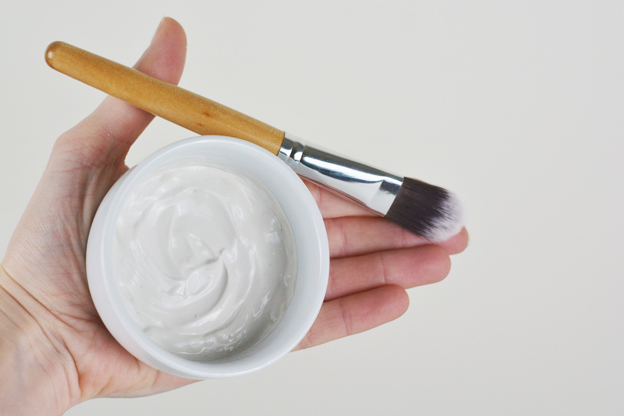 Australian Pure White Clay Facial Masks for Sensitive Skin