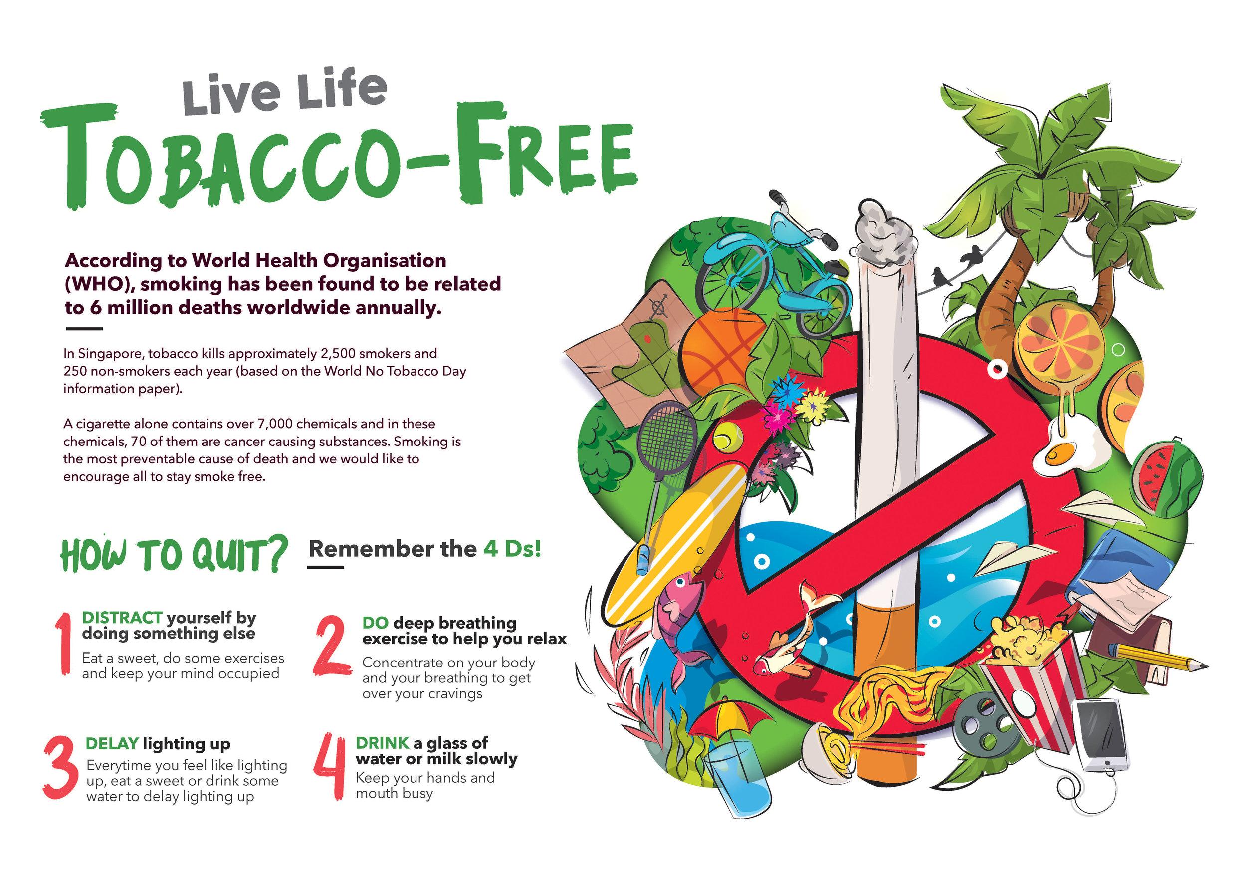 Live Life Tobacco-Free 2