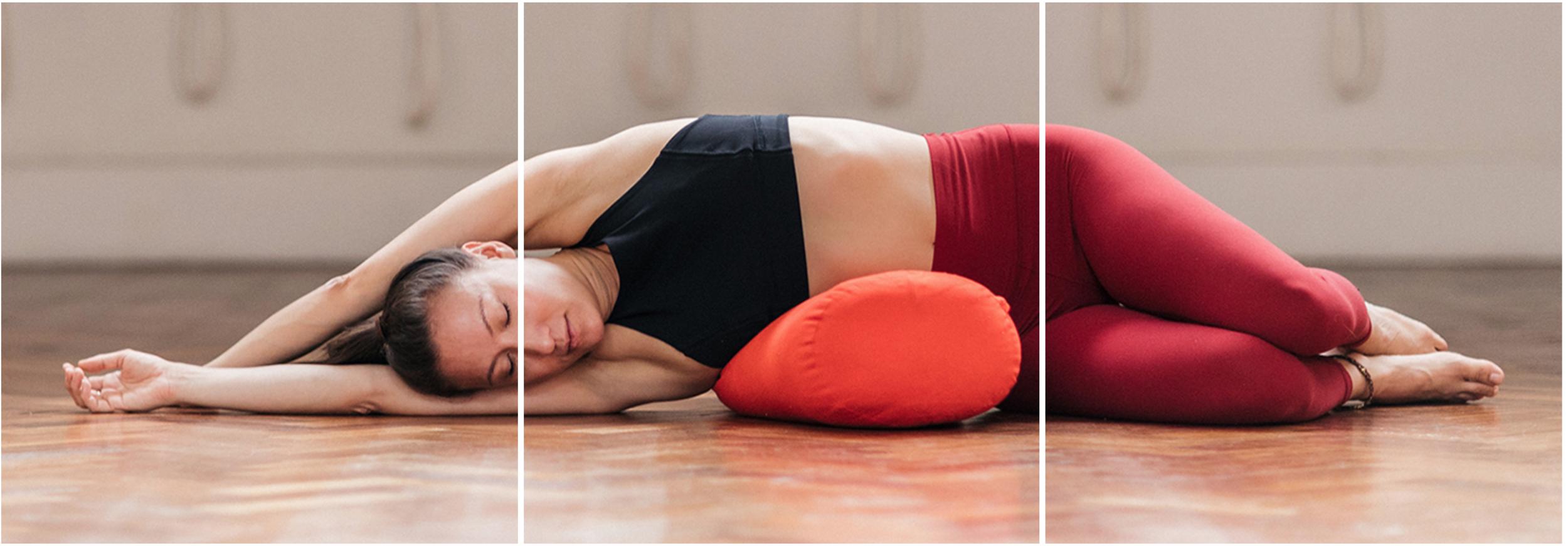 Restorative Side Stretch Pose