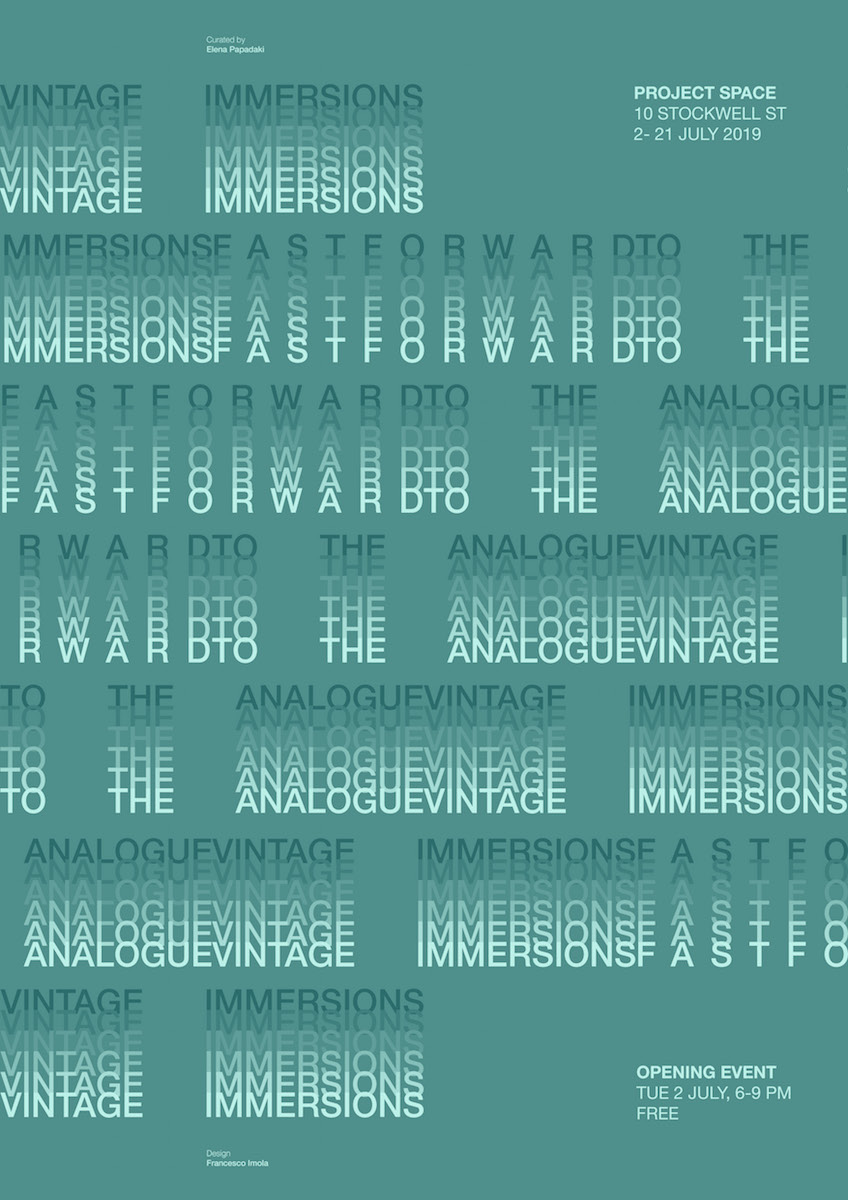 Fast Forward to the Analogue Poster 01