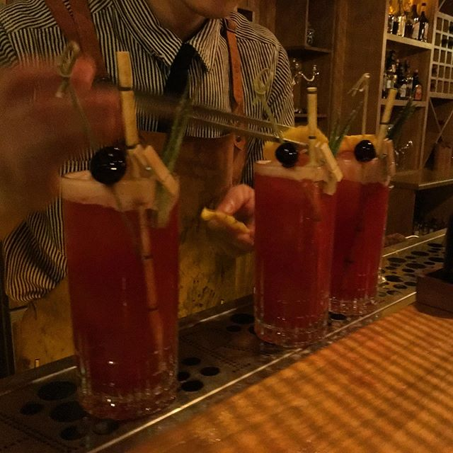A #singaporesling in #Harbin that #hemingway himself would have approved of.  #travel #worldtravel #heilongjiang #china #drinks #cocktails #worldclass #drinkinginchina