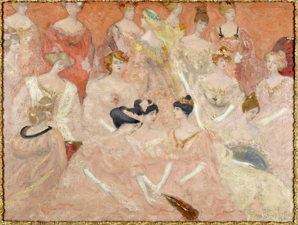 La Duchesse de Montbazon, 1903. Huile sur toile, 100 x 130 cm. Collection privée, Moscou.