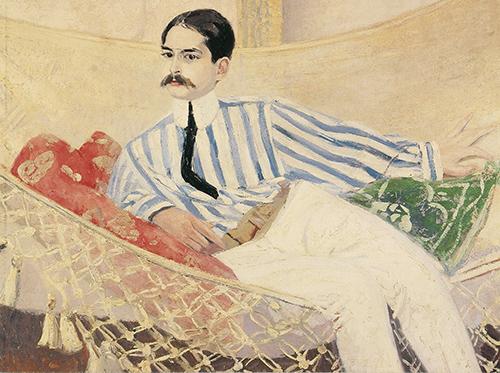 Portrait de Monsieur Charles Verrier, Jacqueline Marval. Huile sur toile, 89 x 116 cm. Courtesy Crane Kalman Gallery, London.