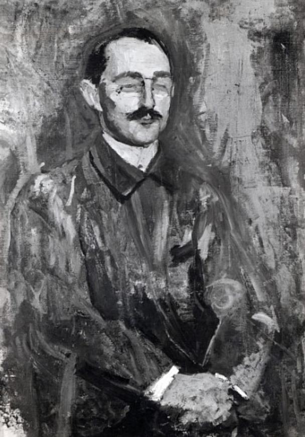 Portrait d'Albert Marquet, Jacqueline Marval, 1902. Huile sur toile.