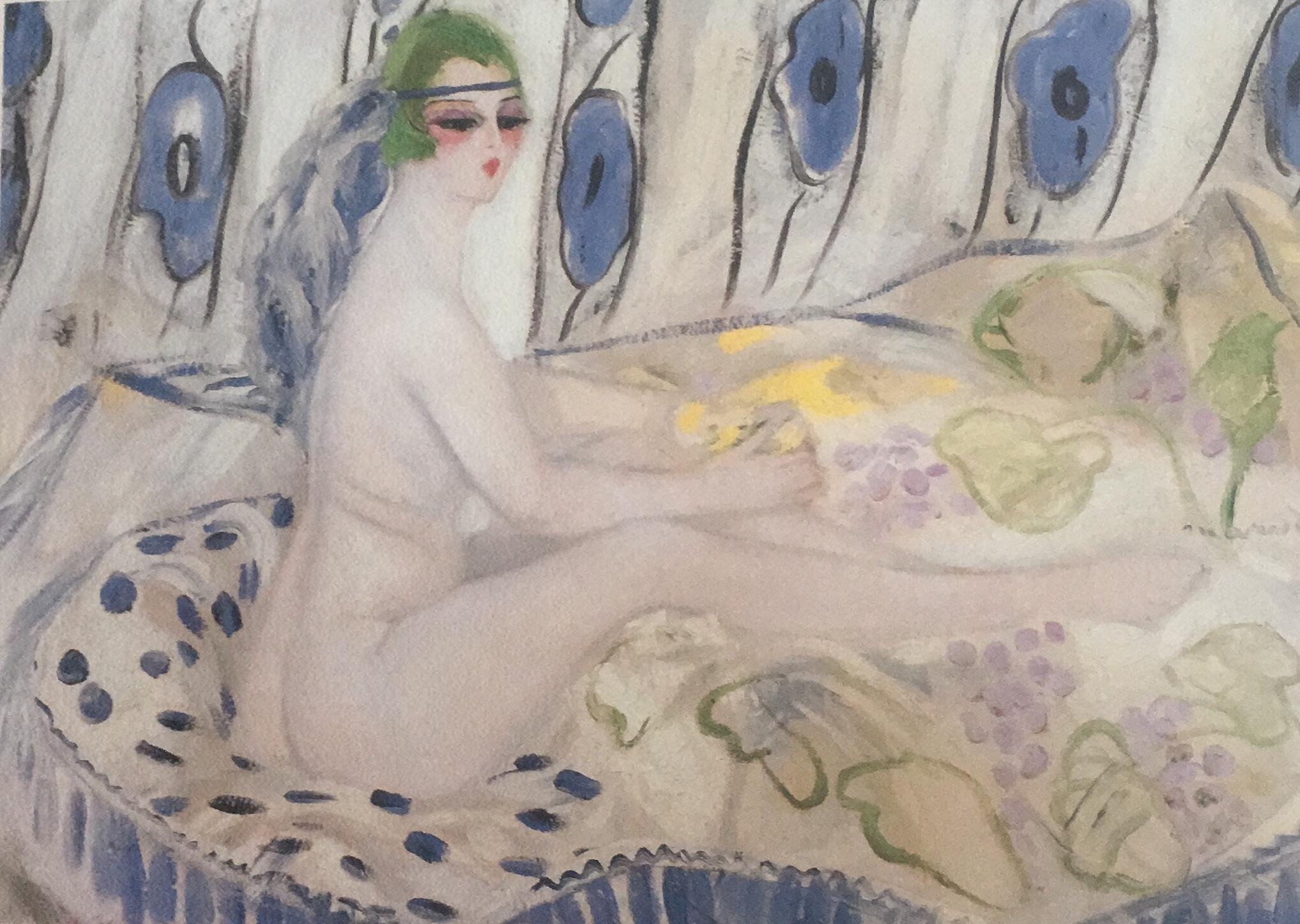 La Petite Cléopâtre, Jacqueline Marval, 1920. Huile sur toile, 0,995 m x 1, 37 m. Ohara Museum of Art, Kurashiki, Japon.