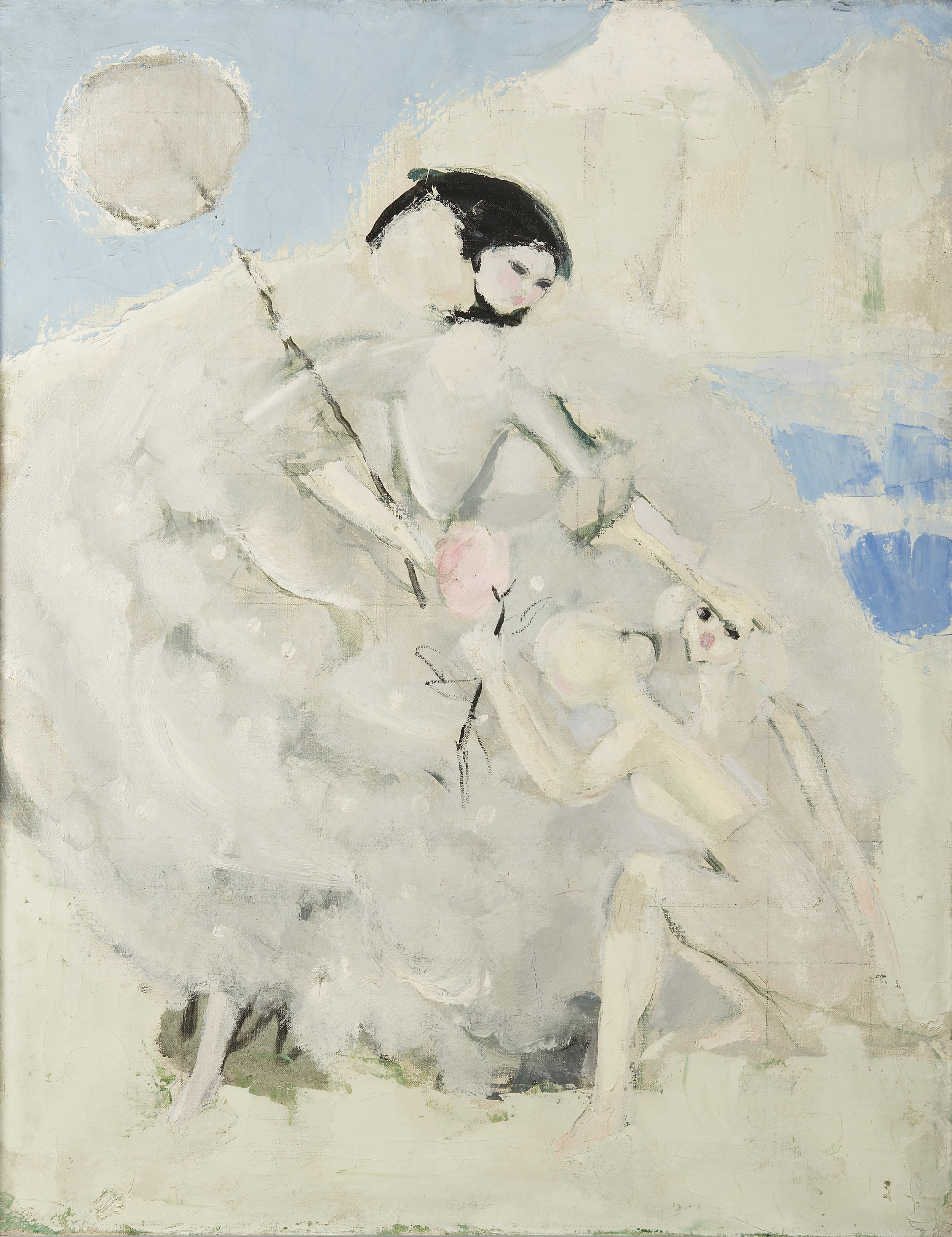Cendrillon, Jacqueline Marval. Huile sur toile.