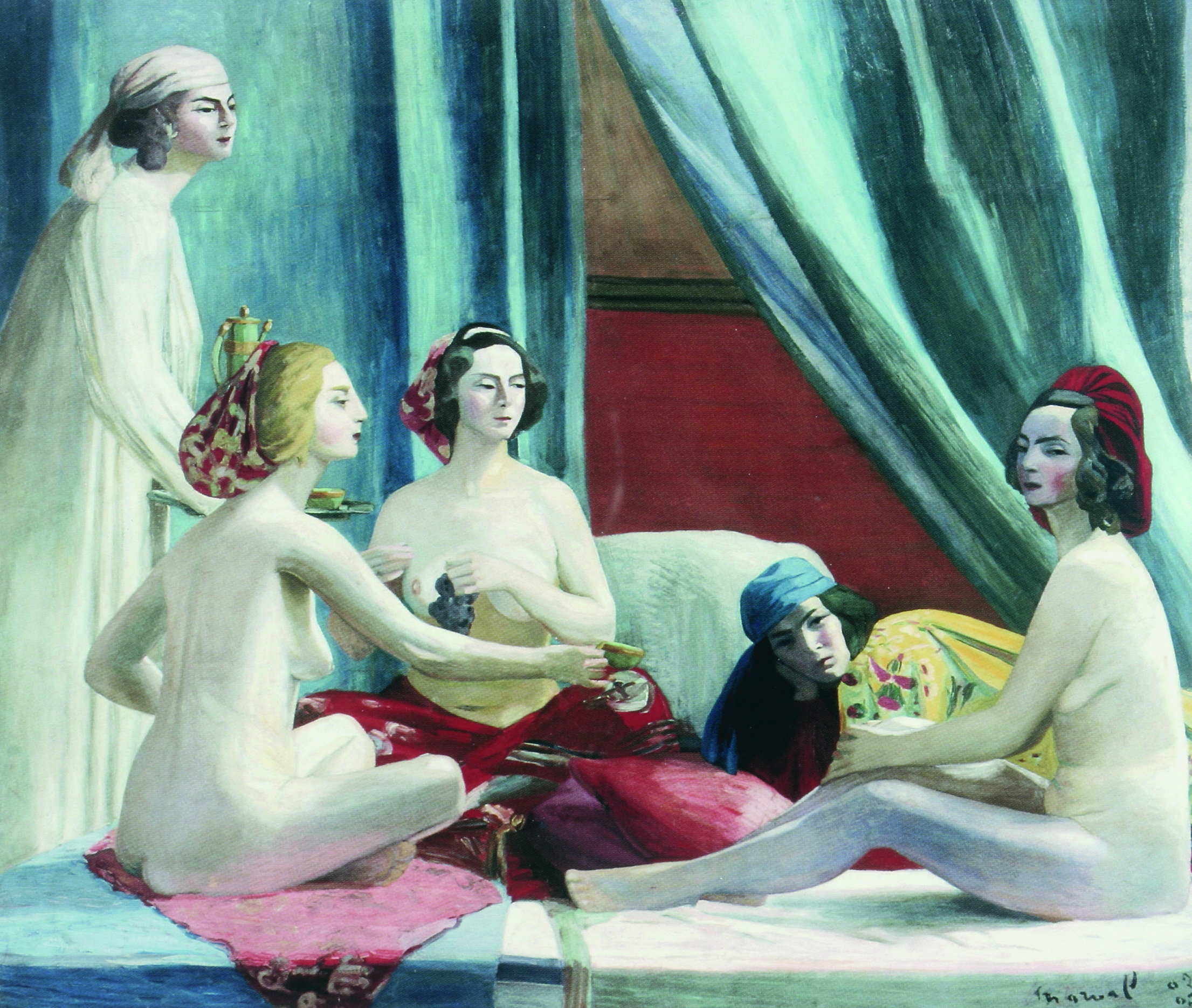 Les Odalisques, c 1902-03. Oil on canvas, 195 x 225 cm. Musée de Grenoble.