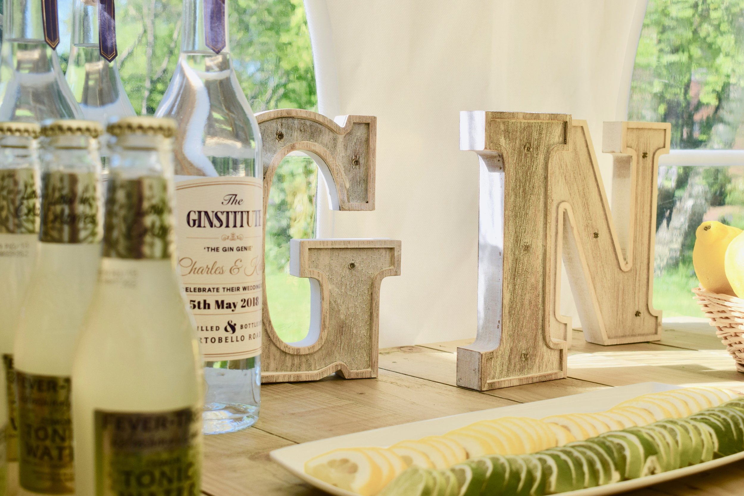 GIN Letters - £2