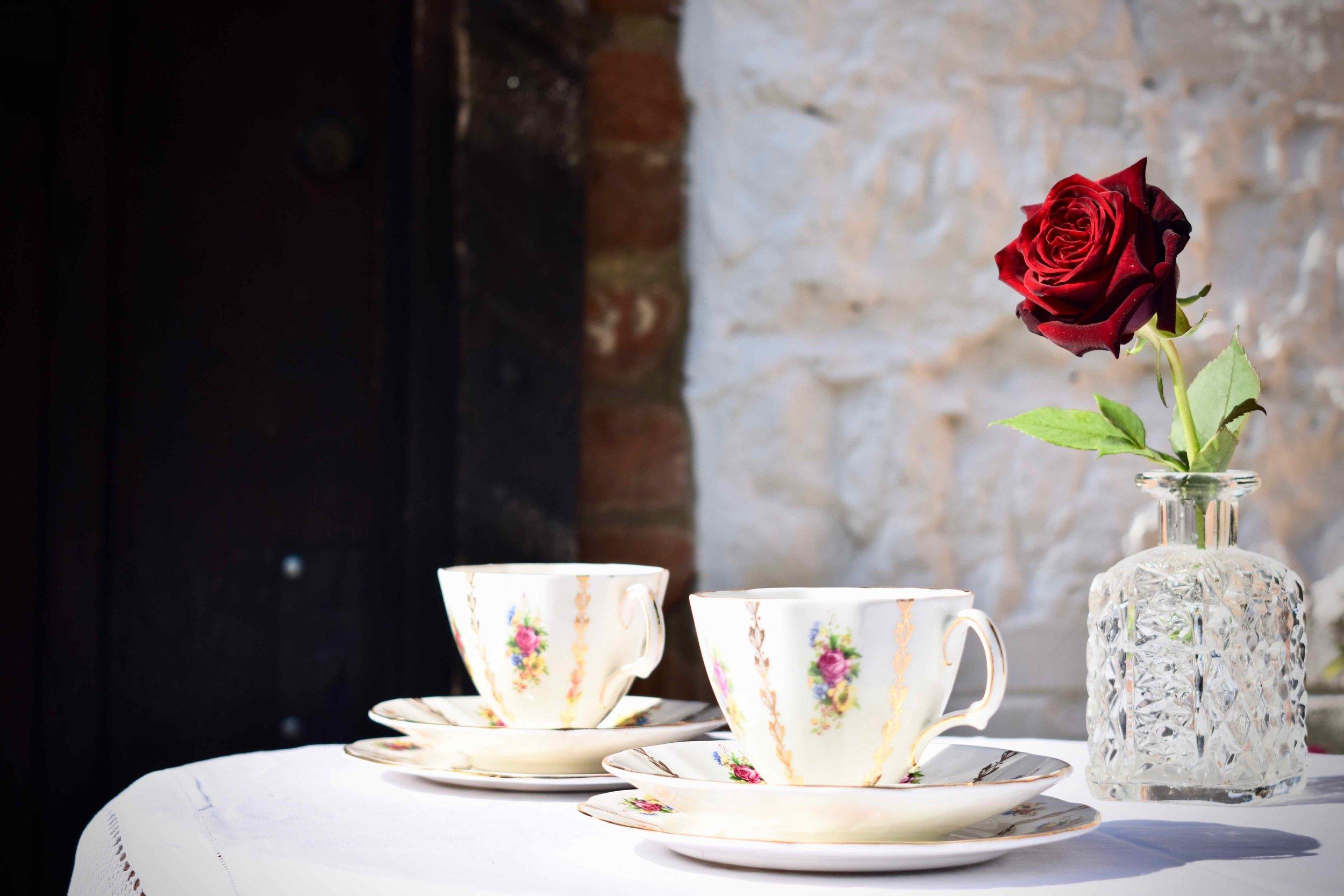 Romantic Tea for Two