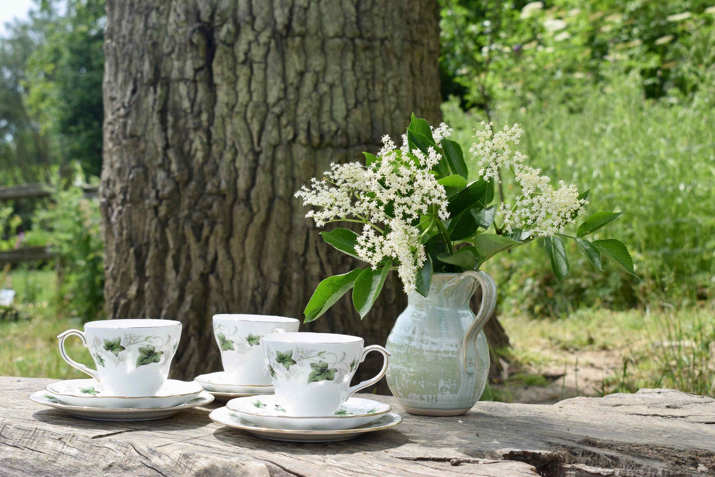 Ivy Teacups