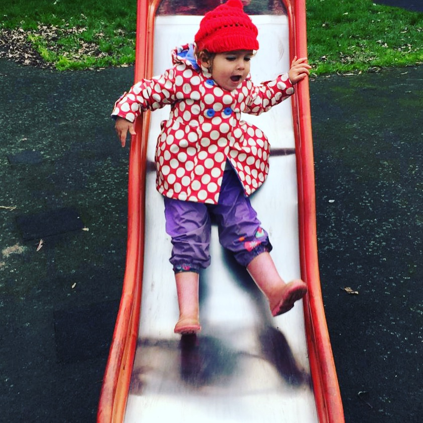 One thing we love about out child minder is how much time Sophia spends outside