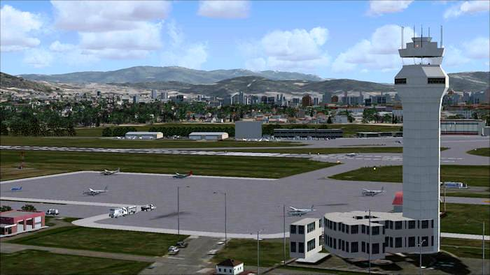 Matteo's Peretola airport for FSX