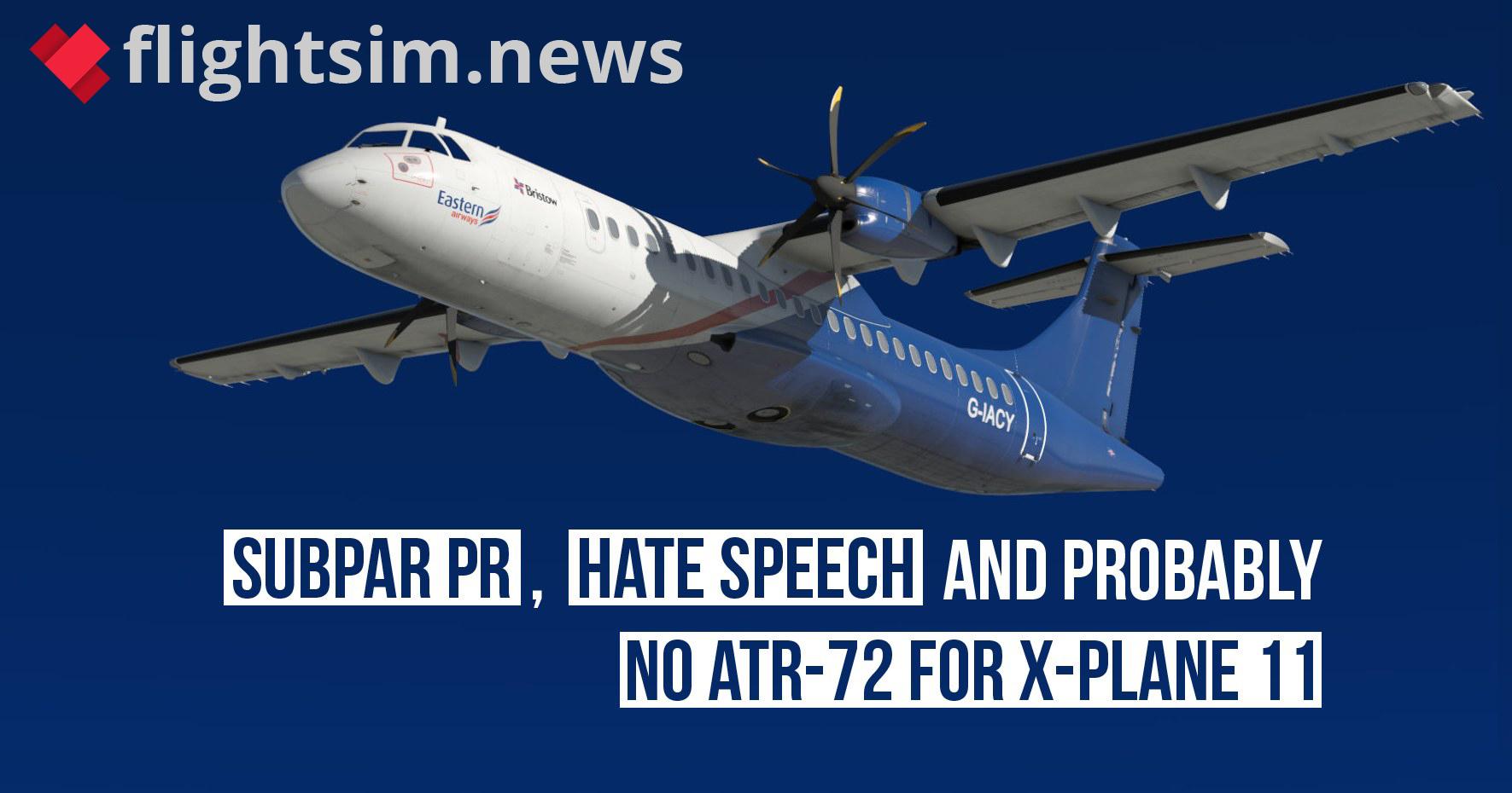 The Milviz XPlane / ATR Debacle: The Plot Thickens