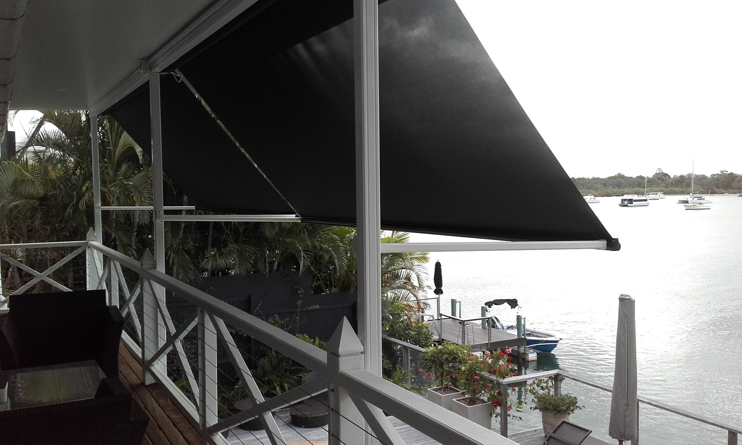 Pivot Arm Awnings -