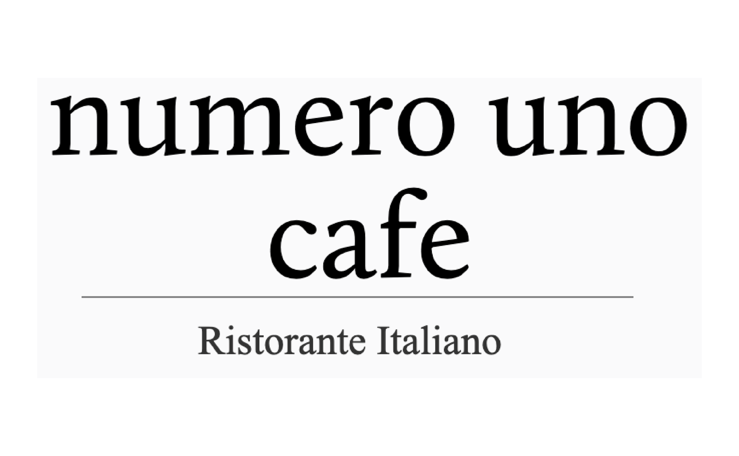 Numero Uno Cafe