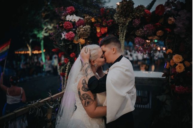 Glitter Squad Pride Parade Wedding - I was so excited to be a part of the first ever wedding at Pride Parade Auckland with the Glitter Squad Celebrants.17 February 2018Stuff ArticleTVNZ Article & VideoPink News UK ArticleSBS Australia Article