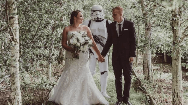 Waikato Times Article - Stormtrooper steals show at Waikato weddingWaikato Times5 January 2017Link to Article