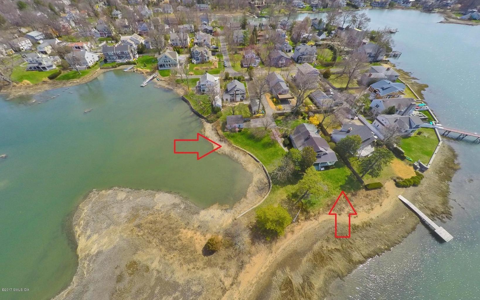 Two 1/4 acre lots allow for the FAR needed to build Osprey Point.  (Image via Flexmls)