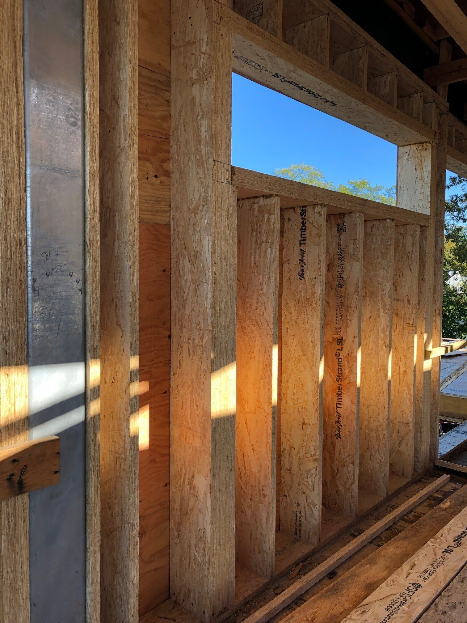 PraLlam framing at Osprey Point.  Image via Granoff Architects.