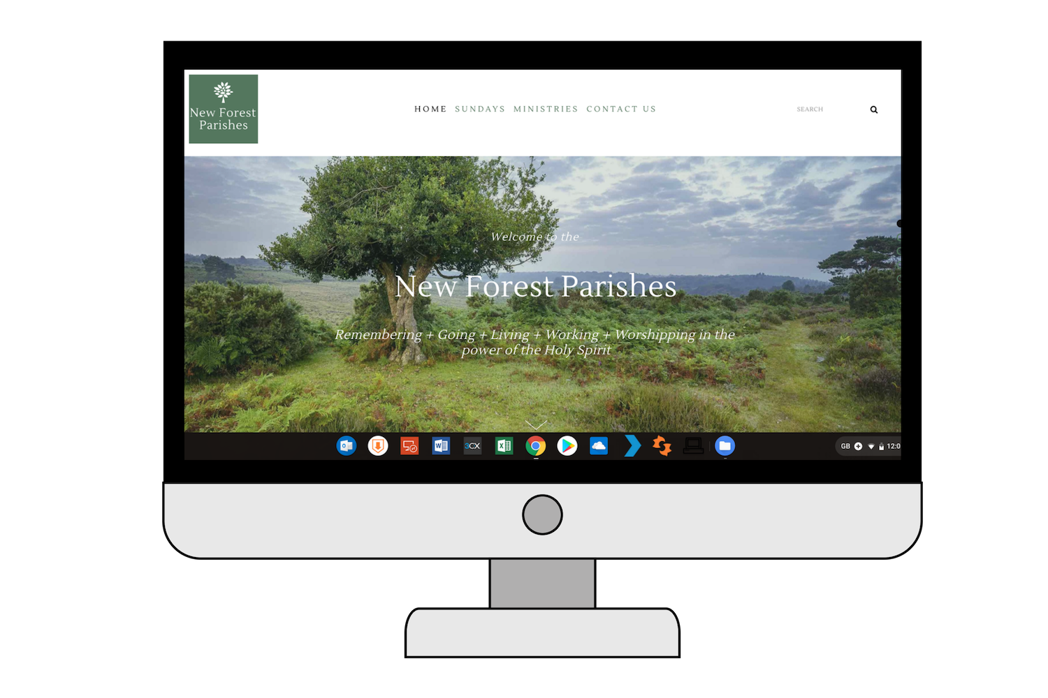 New Forest Parishes - home page