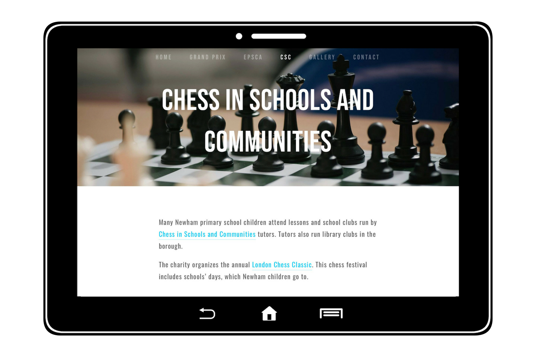 Newham Junior Chess - CSC
