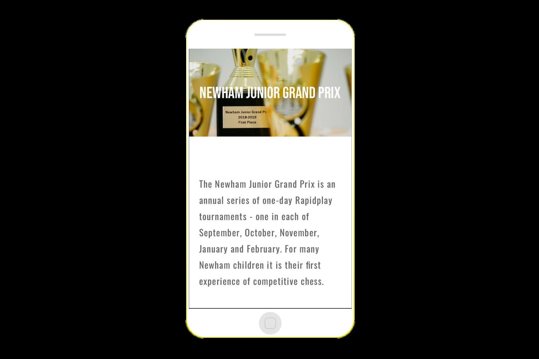 Newham Junior Chess - Grand Prix