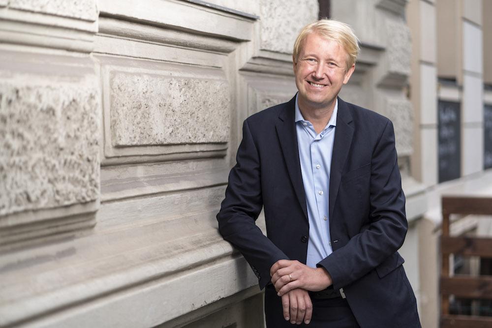 Christian Berg, Geschäftsführer der AllBright Stiftung