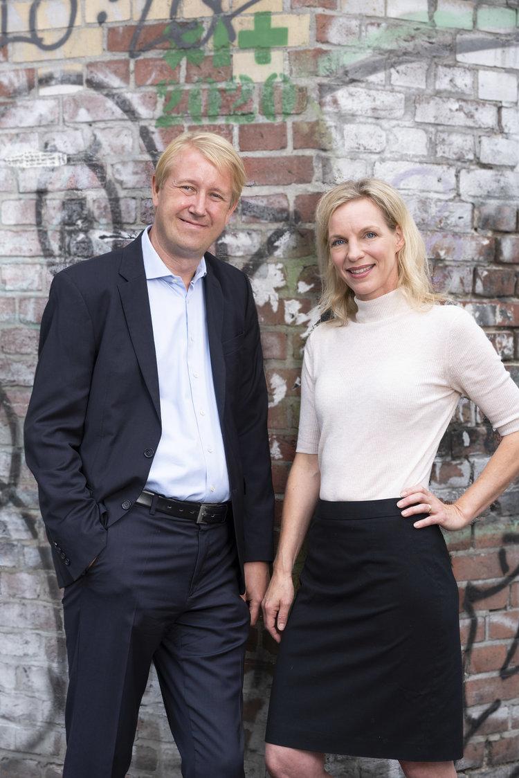 Christian Berg und Wiebke Ankersen, AllBright