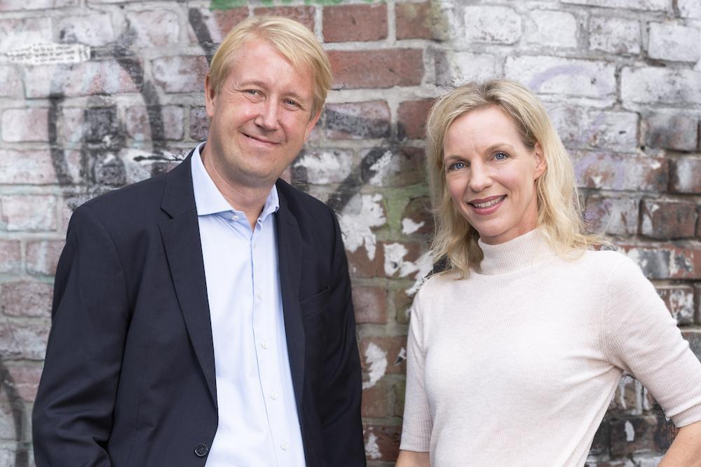 Christian Berg und Dr. Wiebke Ankersen, Geschäftsführung der AllBright Stiftung