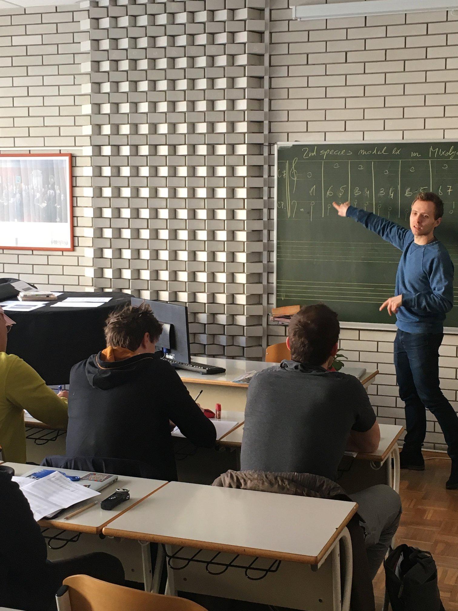 Teaching at the Creative Jazz Clinic Velenje (Feb. 18-23 2019), by Jure Pukl.jpg