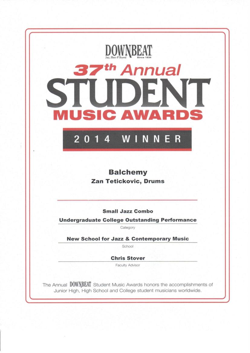 4. 2014 Downbeat award.jpeg